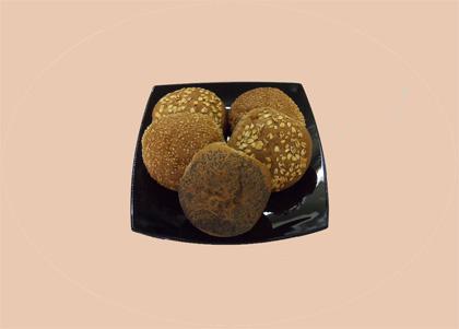 Gesorteerde bruinebroodjes