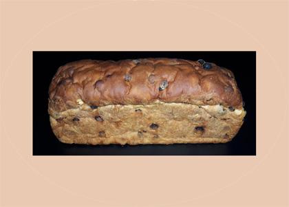 Krentenbrood zonder spijs